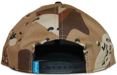 <!--020120320043198-->Entree - 'Unknown Red - Desert Storm' [(Camo Pattern) Snap Back Hat]
