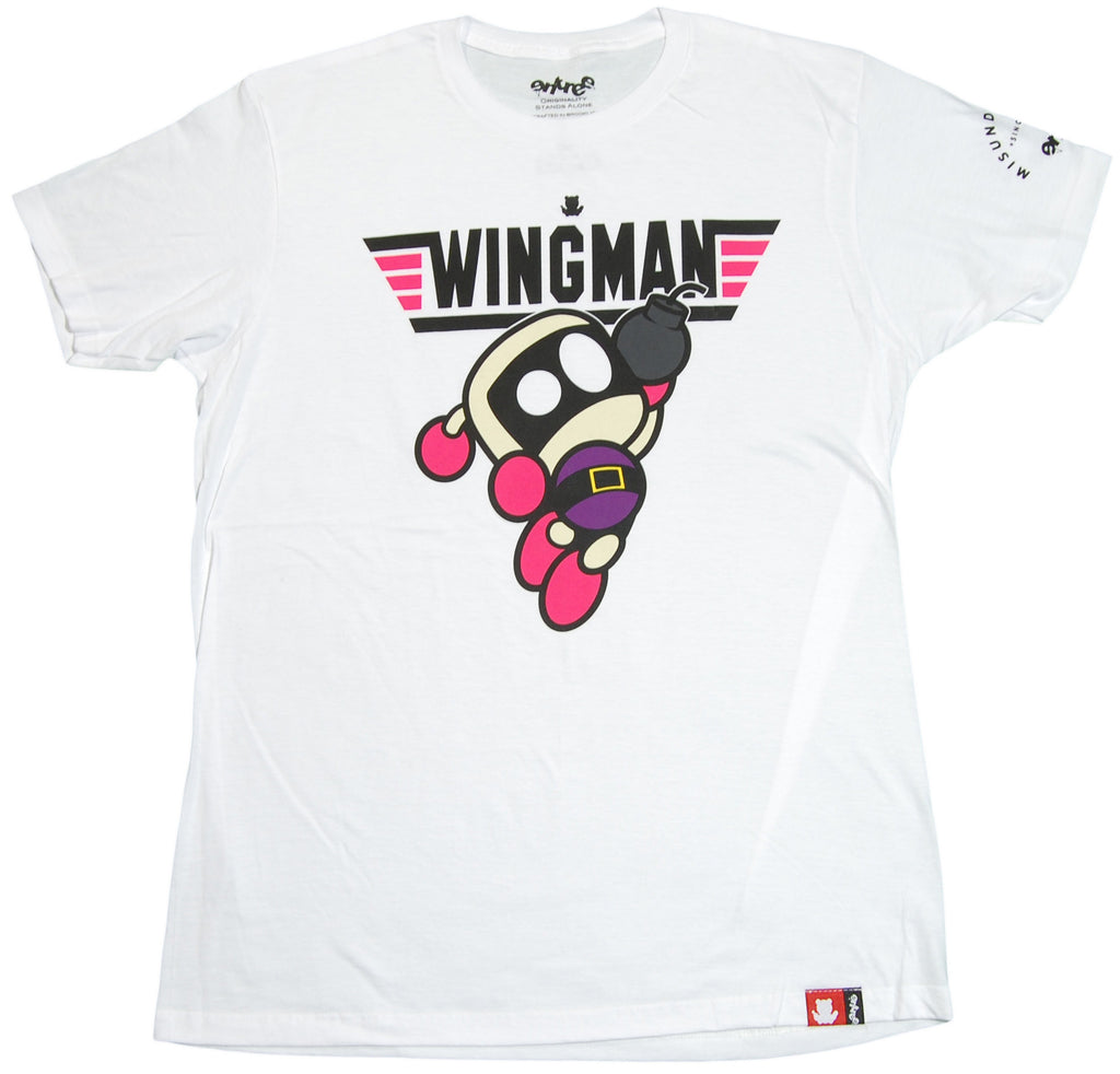 <!--2012032047-->Entree - 'Wingman' [(White) T-Shirt]