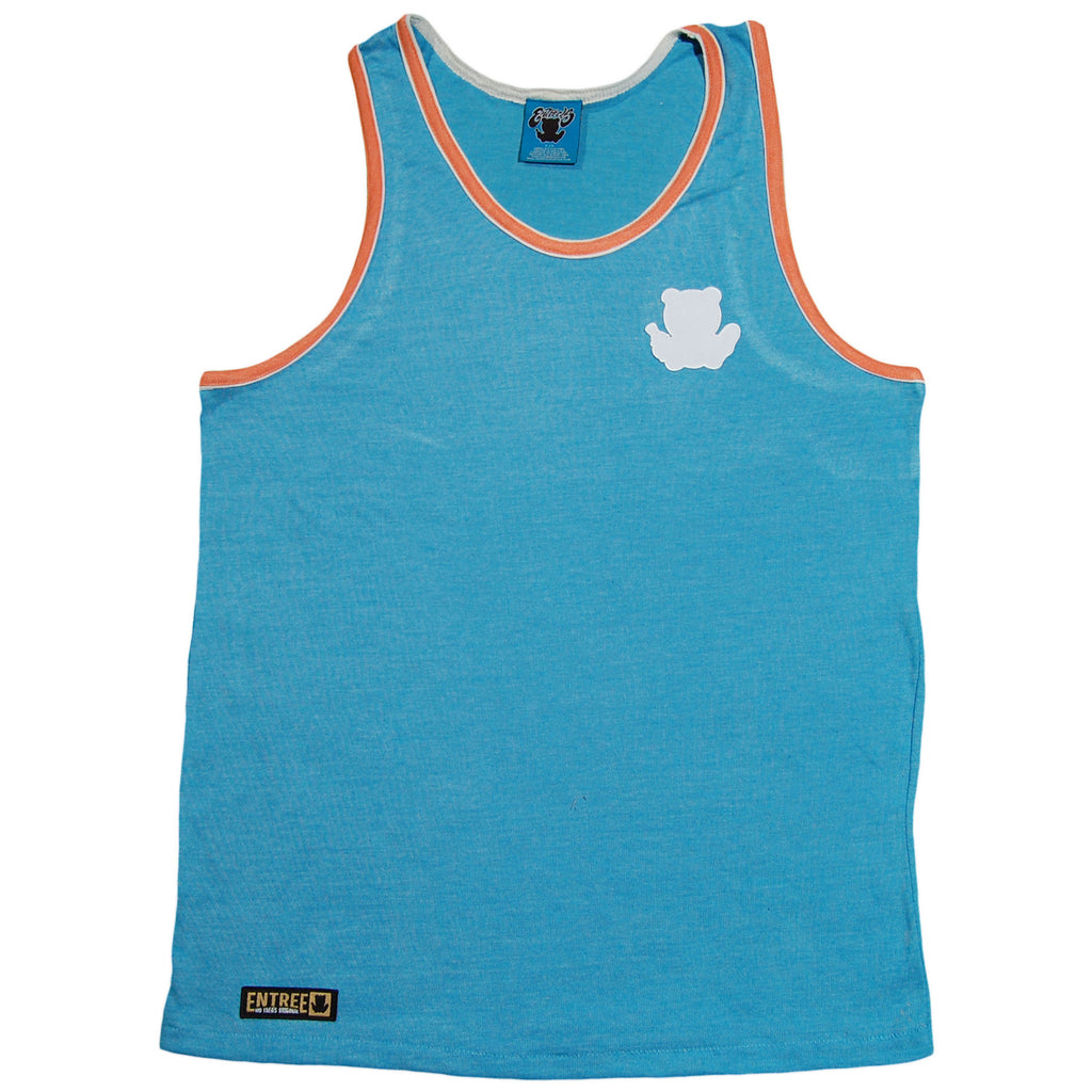 <!--2013052125-->Entree - 'Double Contrast Ribbed' [(Light Blue) Tank Top]