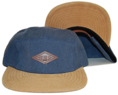 <!--020130129053648-->Entree - 'Navy Washed Pigment' [(Dark Blue) Five Panel Camper Hat]