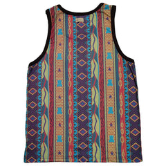 <!--2013070221-->Entree - 'Aztec B.I.G.' [(Multi-Color) Tank Top]