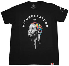 <!--2013012958-->Entree - 'Misunderstood #91' [(Black) T-Shirt]