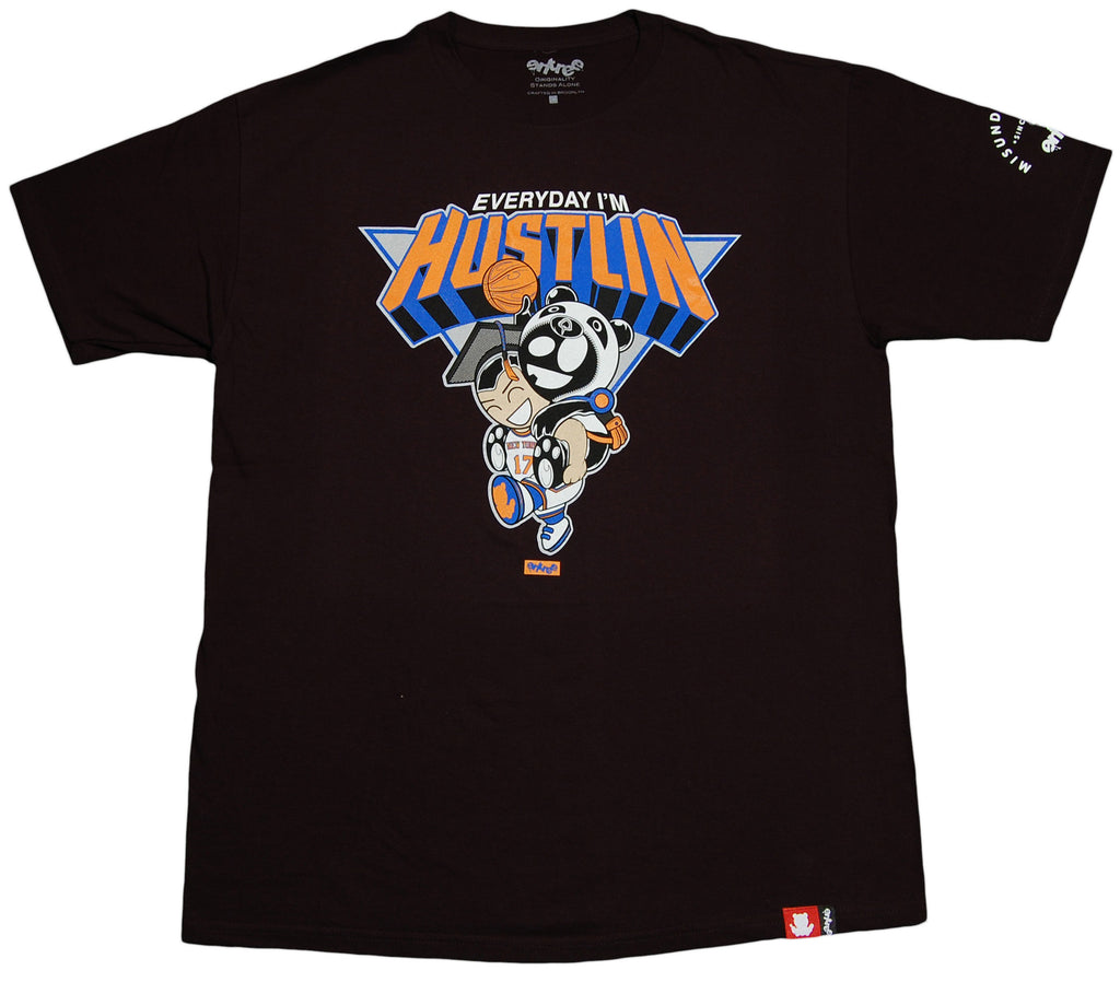 <!--2012052250-->Entree - 'Everyday I'm hustLIN'' [(Black) T-Shirt]