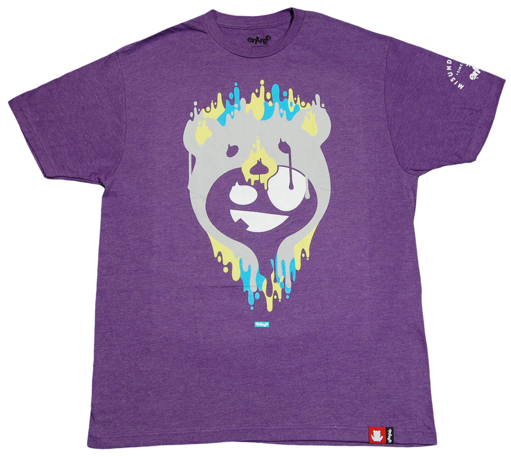 <!--2012052217-->Entree - 'Drippy Teddy' [(Purple) T-Shirt]