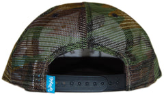 <!--020120522045267-->Entree - 'Mesh Trucker' [(Camo Pattern) Snap Back Hat]