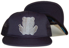 <!--020120522045266-->Entree - 'Mesh Trucker' [(Dark Blue) Snap Back Hat]
