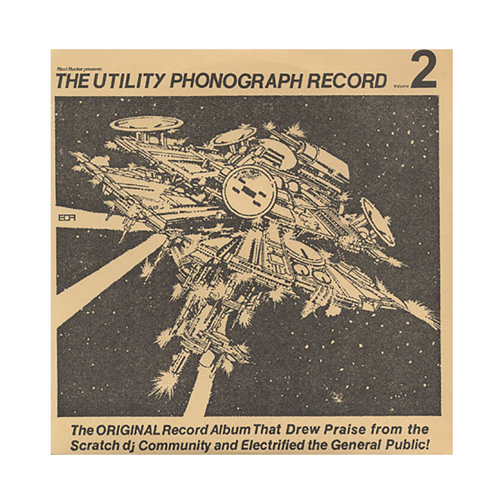 <!--020040101011657-->Ricci Rucker - 'The Utility Phonograph Record Vol. 2' [(Black) Vinyl LP]