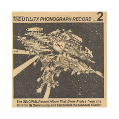 Ricci Rucker - 'The Utility Phonograph Record Vol. 2' [(Black) Vinyl LP]