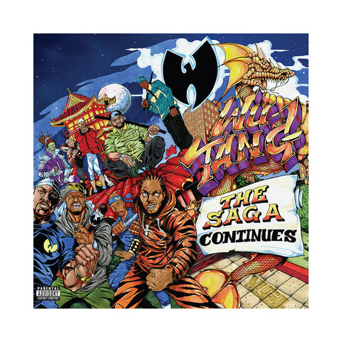 "[""Wu-Tang Clan - 'The Saga Continues' [(Black) Vinyl [2LP]]""]"