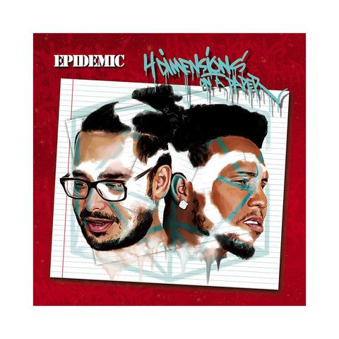 Epidemic - '4 Dimensions On A Paper' [CD]