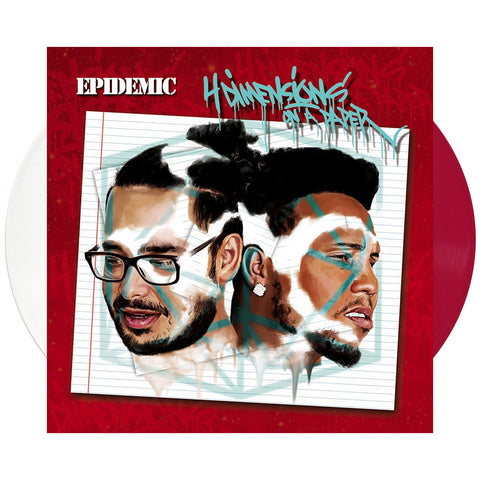 "[""Epidemic - '4 Dimensions On A Paper' [(White + Red) Vinyl [2LP]]""]"