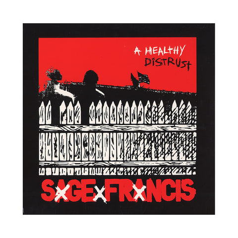 Sage Francis - 'A Healthy Distrust' [(Black) Vinyl [2LP]]