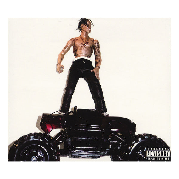 Travis Scott Rodeo Deluxe Edition Cd Cover Art