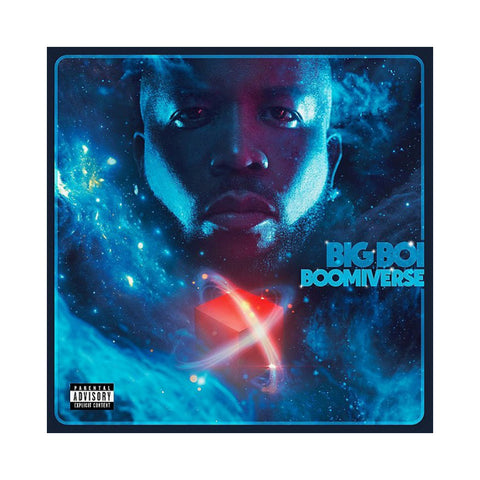 Big Boi - 'Boomiverse' [(Blue & White) Vinyl LP]