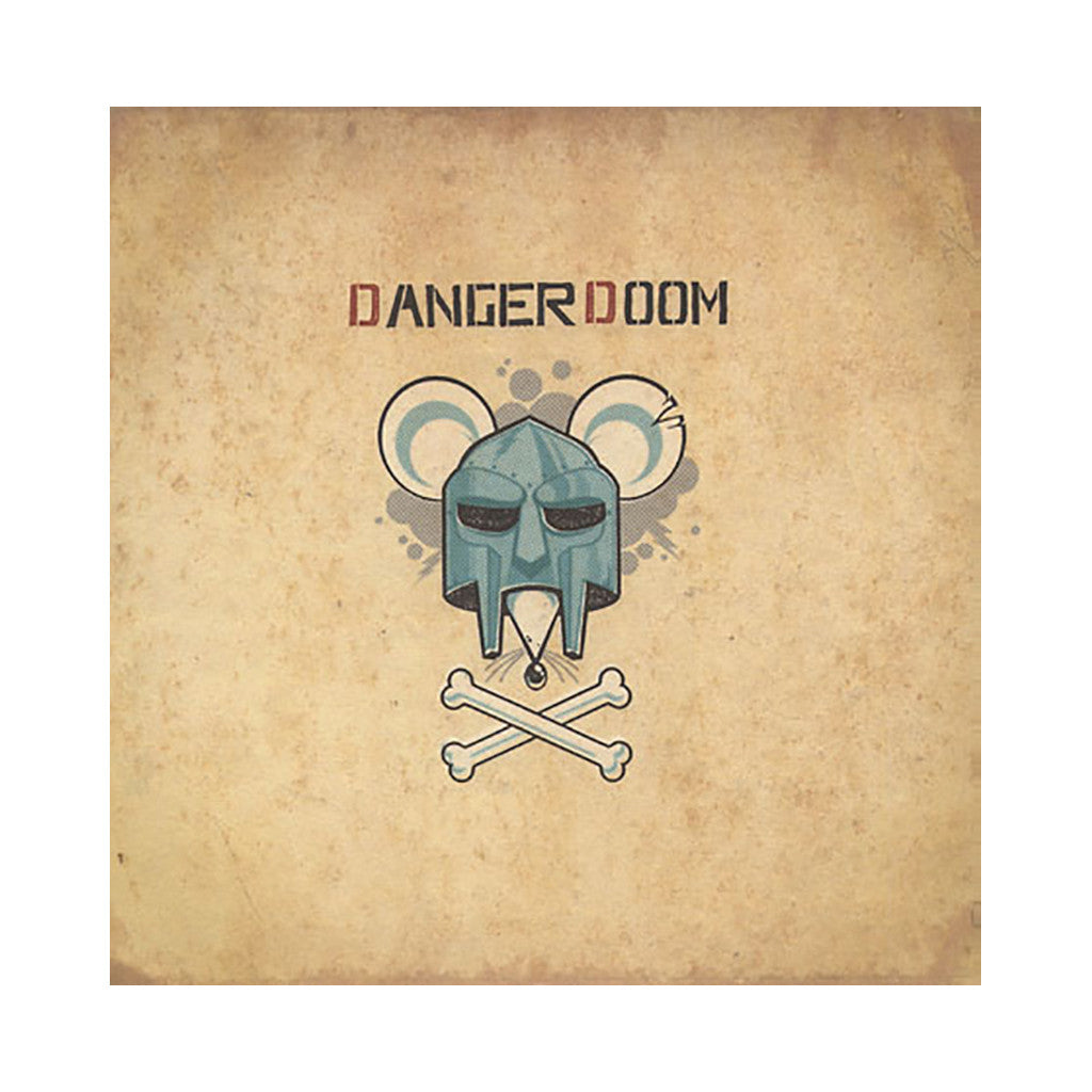 DANGER DOOM - 'The Mouse And The Mask' [(Black) Vinyl LP]