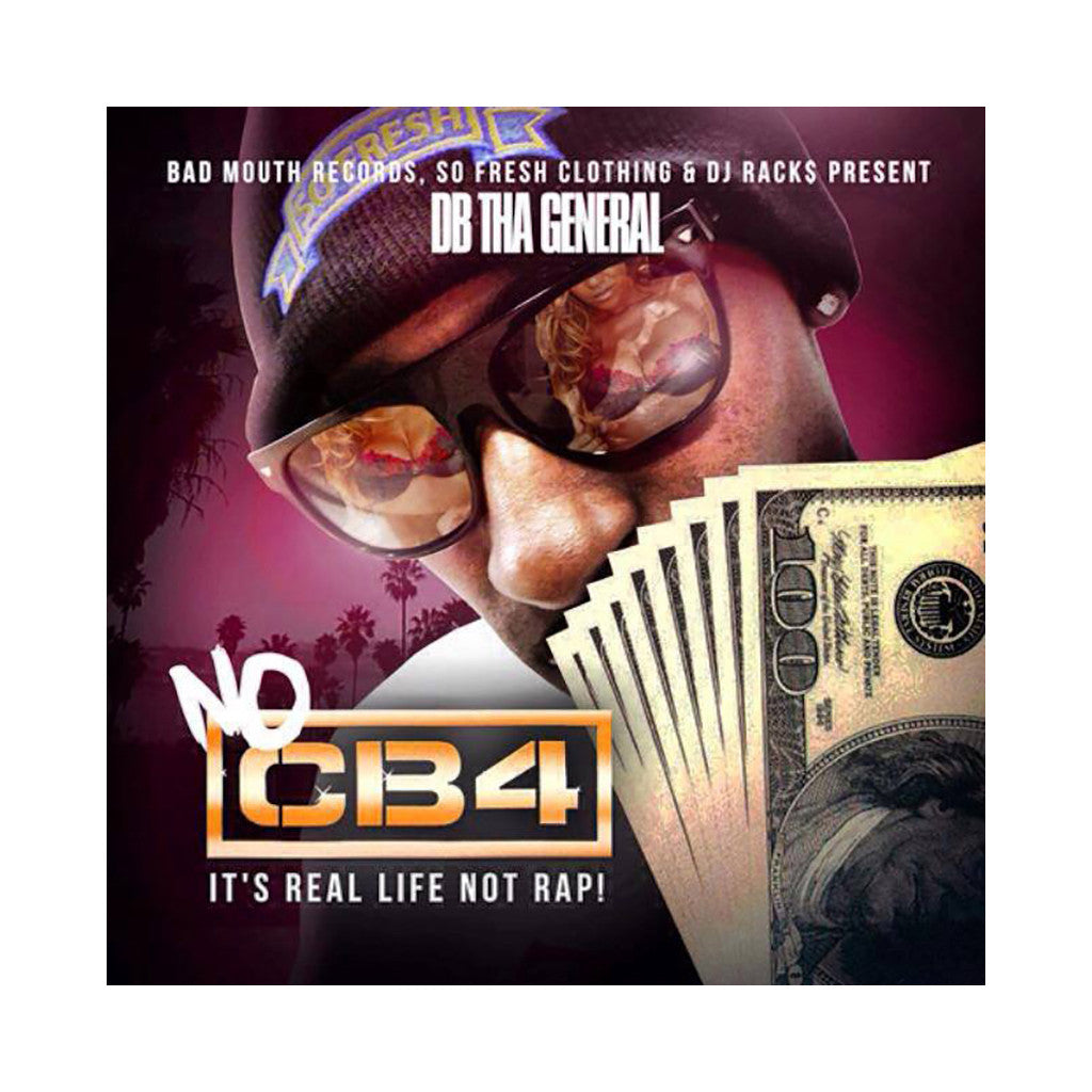 DB Tha General - 'No CB4' [CD]