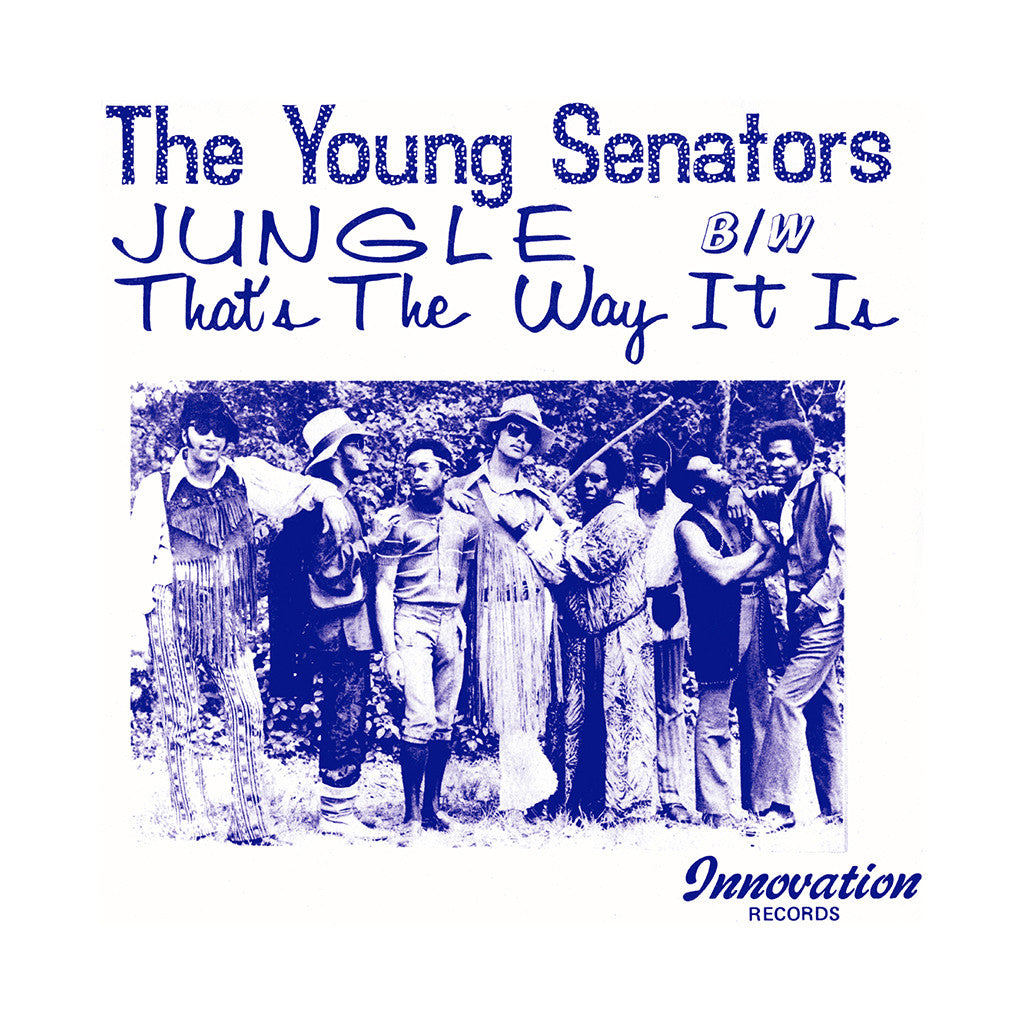 "The Young Senators - 'Jungle/ That's The Way It Is' [(Black) 7"" Vinyl Single]"