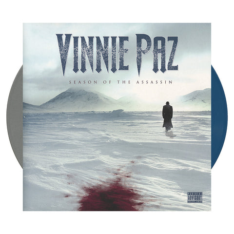 Vinnie Paz - 'Season Of The Assassin' [(Gray + Blue) Vinyl [2LP]]