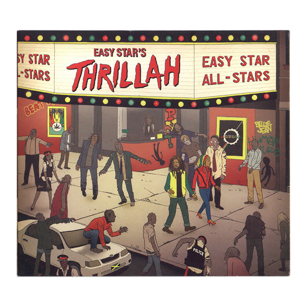 Easy Star All-Stars (Covering: Michael Jackson) - 'Easy Star's Thrillah' [(Black) Vinyl [2LP]]