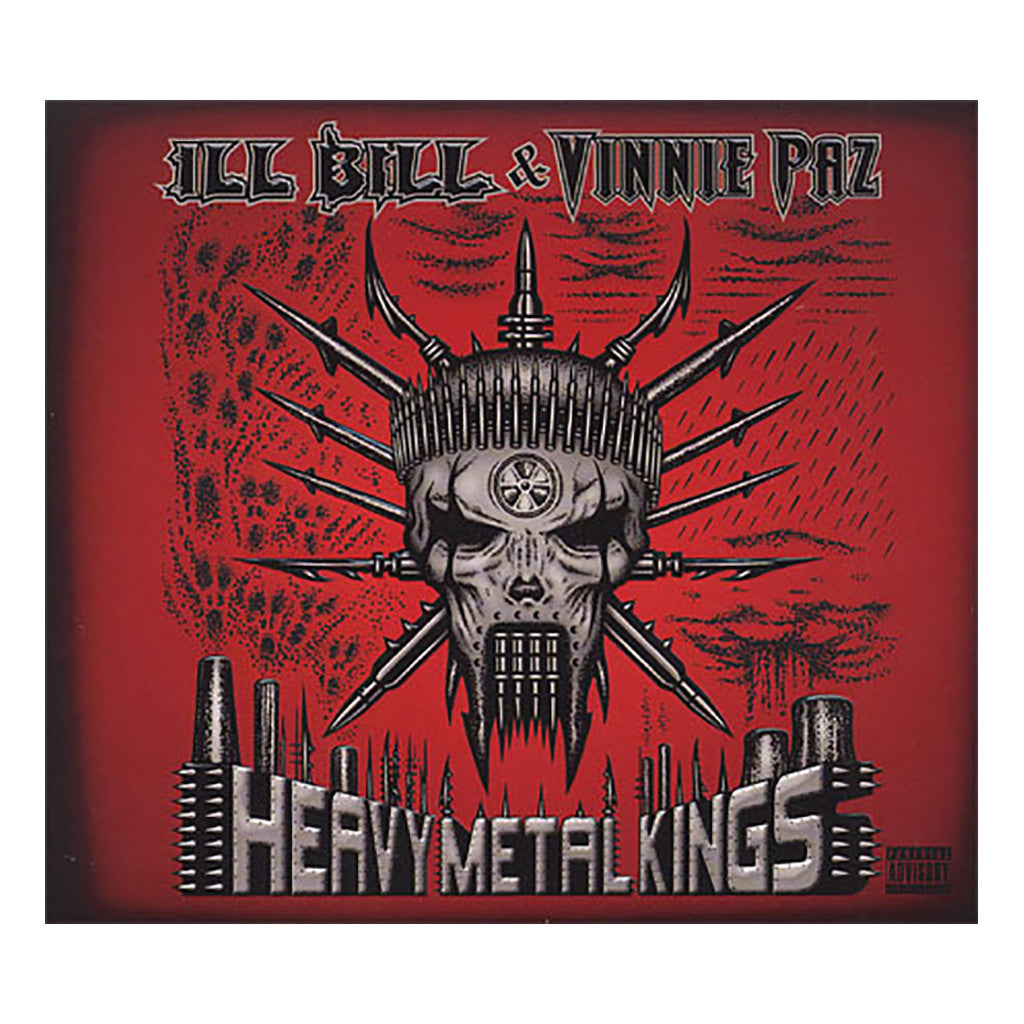 <!--120110405028074-->ILL Bill & Vinnie Paz - 'Heavy Metal Kings' [CD]