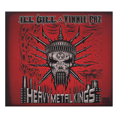 ILL Bill & Vinnie Paz - 'Heavy Metal Kings' [CD]