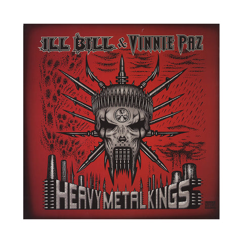 ILL Bill & Vinnie Paz - 'Heavy Metal Kings' [(Black) Vinyl [2LP]]