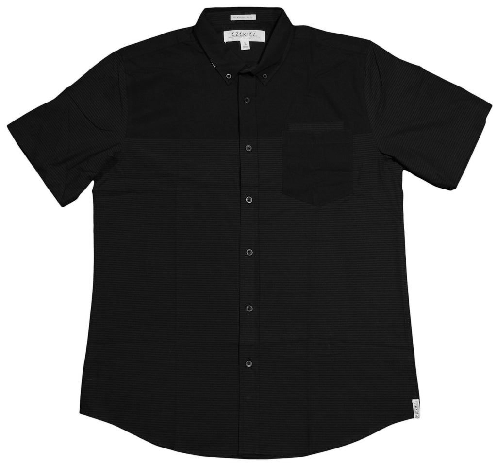 <!--2013020558-->Ezekiel - 'Becks' [(Black) Button Down Shirt]