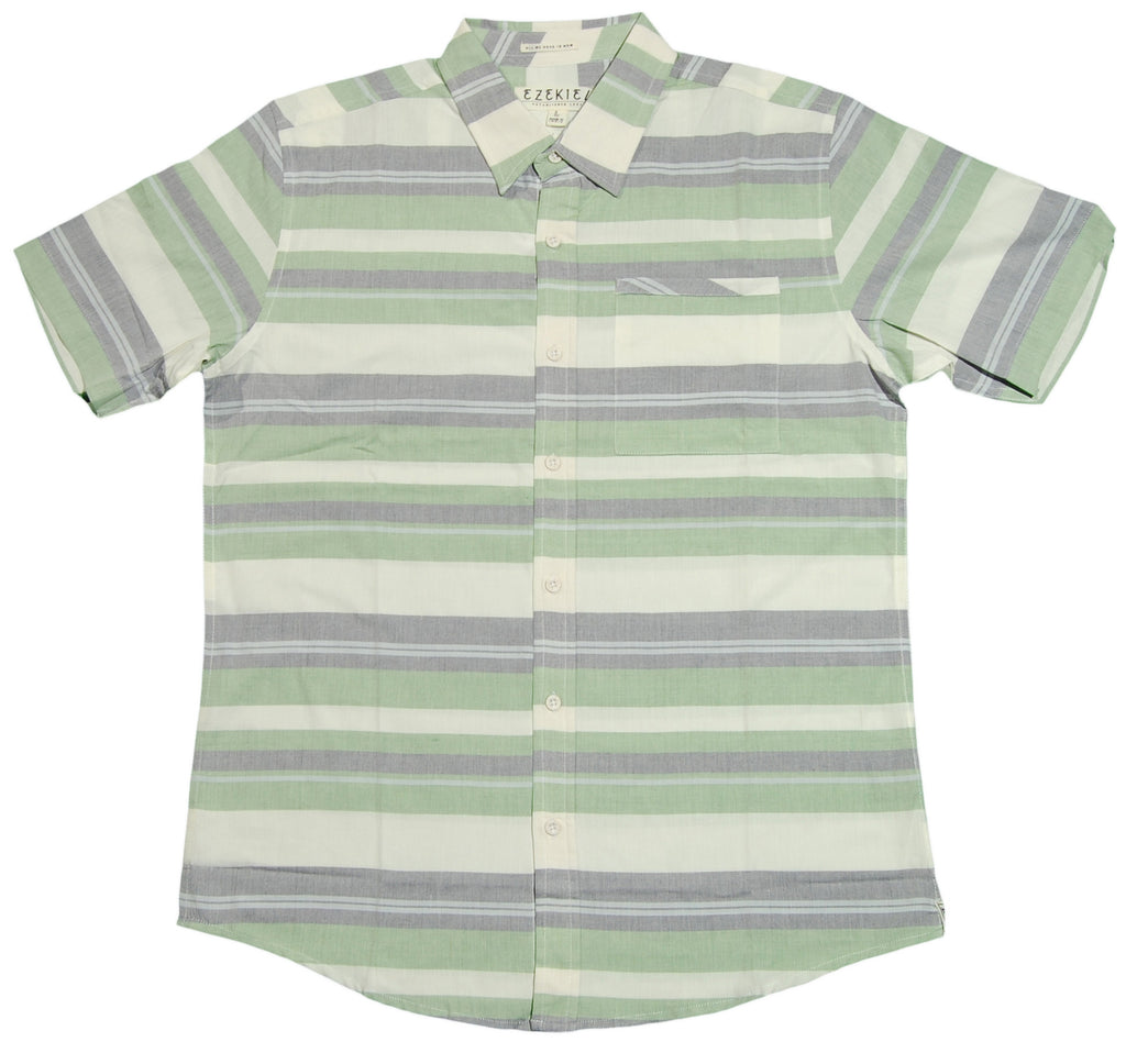<!--2013030559-->Ezekiel - 'Wild Bill' [(Light Green) Button Down Shirt]