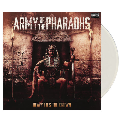 Army Of The Pharaohs - 'Heavy Lies The Crown' [(Clear) Vinyl [2LP]]