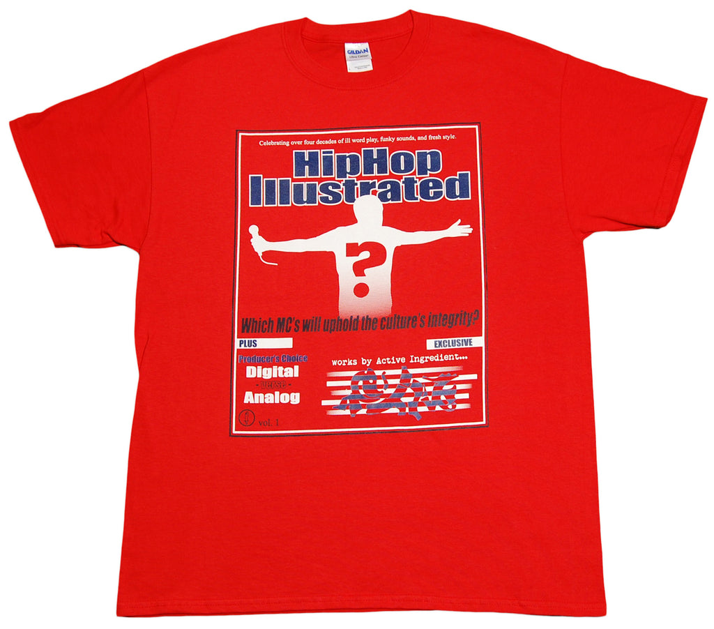 <!--2012051545-->eShirts 84 - 'Hip Hop Illustrated' [(Red) T-Shirt]
