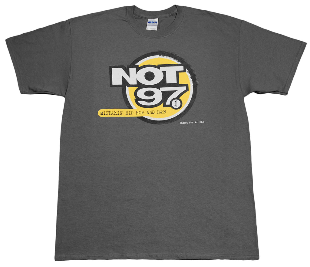 <!--2012051530-->eShirts 84 - 'Not 97' [(Dark Gray) T-Shirt]