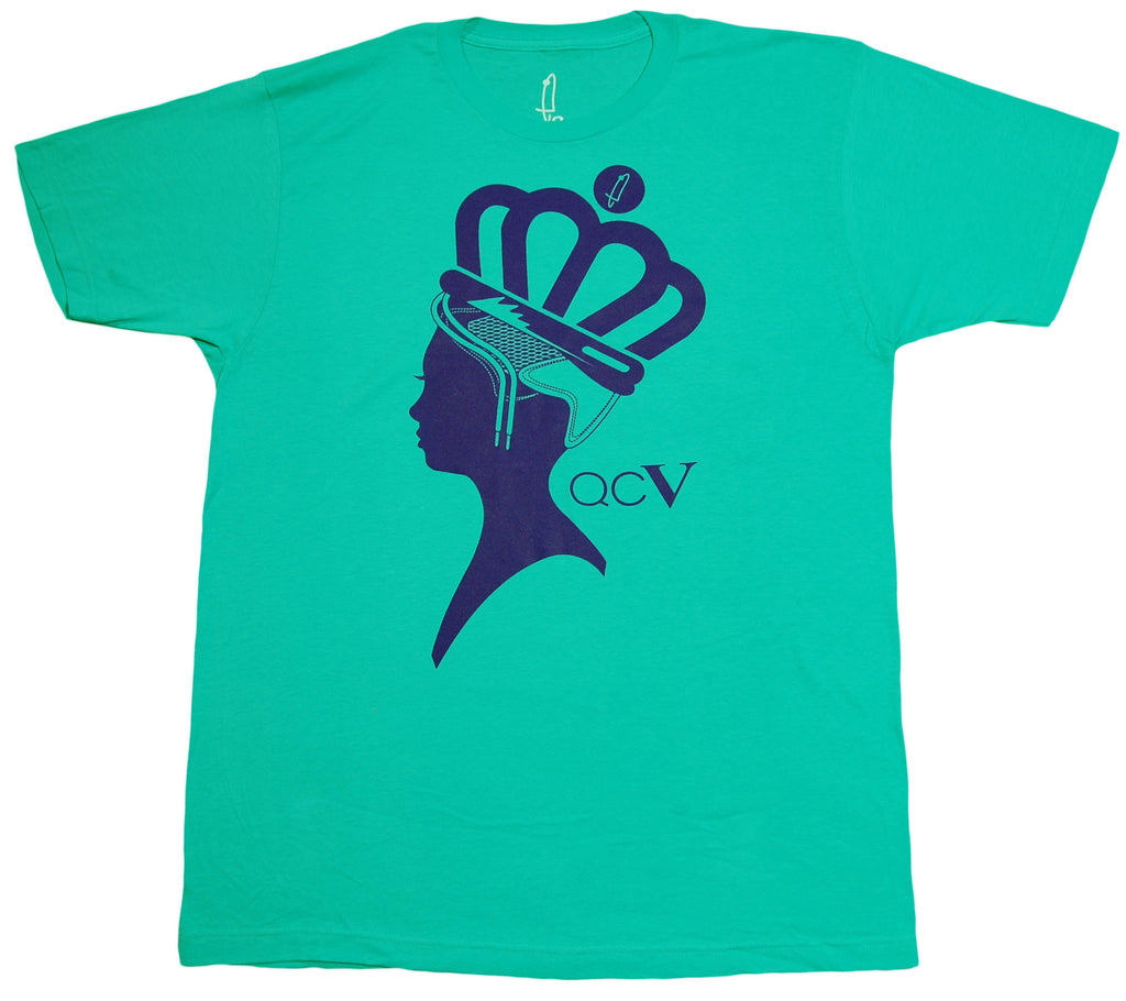 <!--2013060725-->eShirts 84 - 'Queen City 5' [(Light Green) T-Shirt]