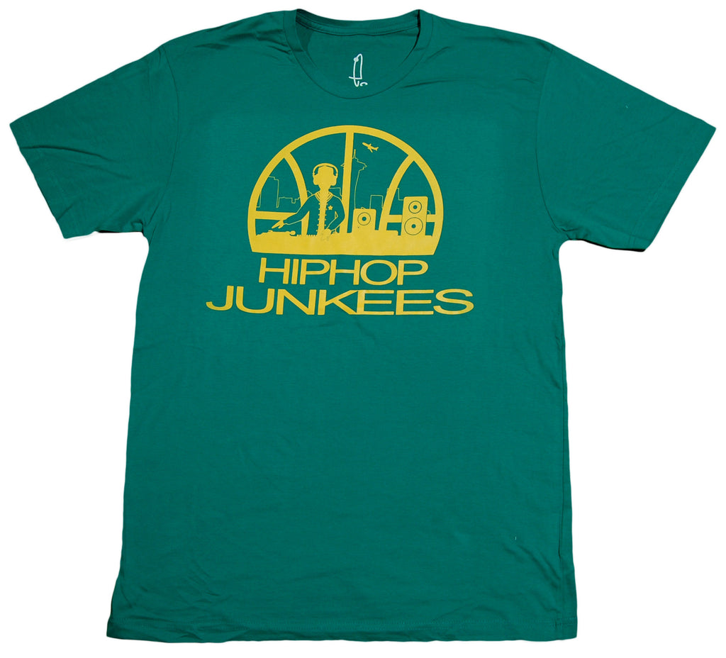 <!--2013060717-->eShirts 84 - 'Seattle Hip Hop Junkees' [(Green) T-Shirt]