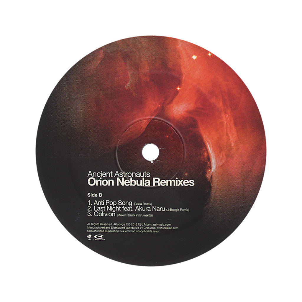 Ancient Astronauts - 'The Orion Nebula Remixes' [(Black) Vinyl EP]