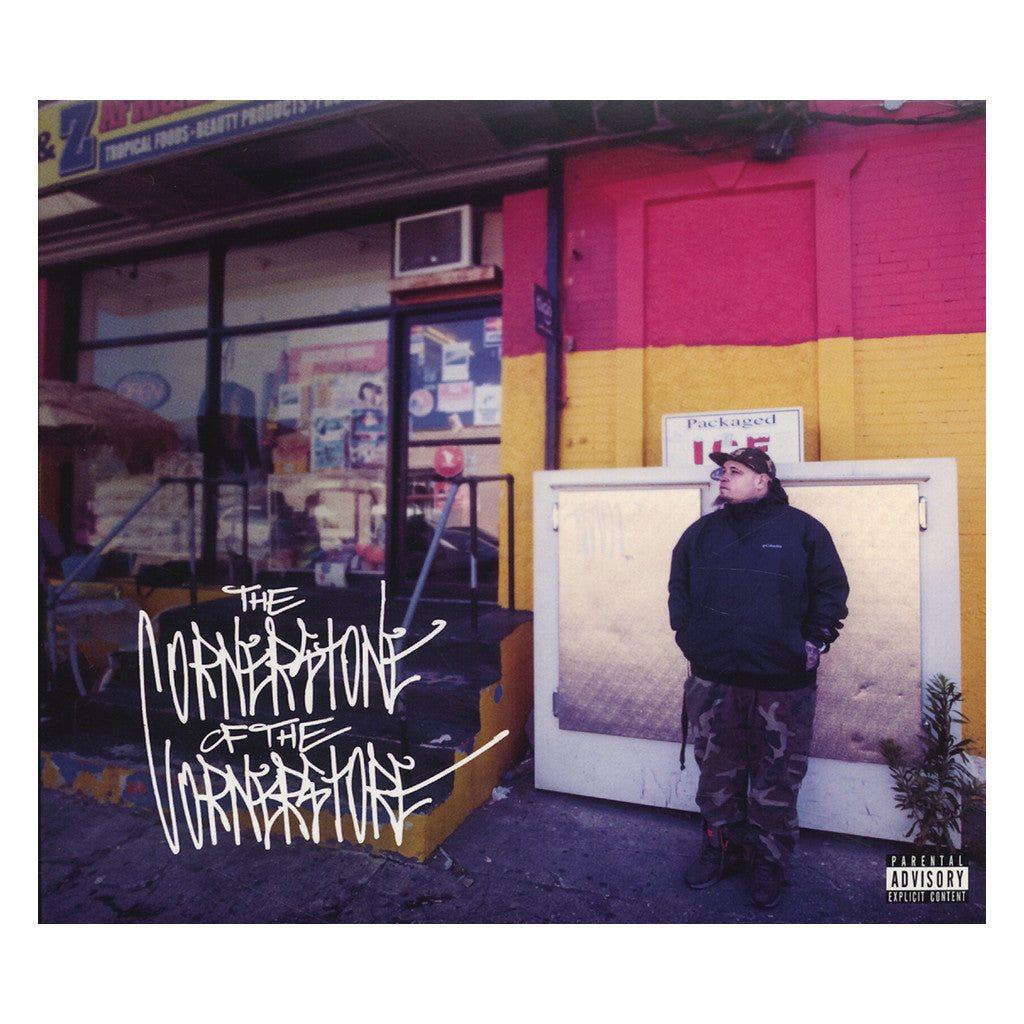 Vinnie Paz - 'The Cornerstone Of The Corner Store' [CD]