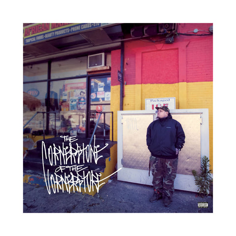 Vinnie Paz - 'The Cornerstone Of The Corner Store' [(Yellow + Red Split) Vinyl [2LP]]