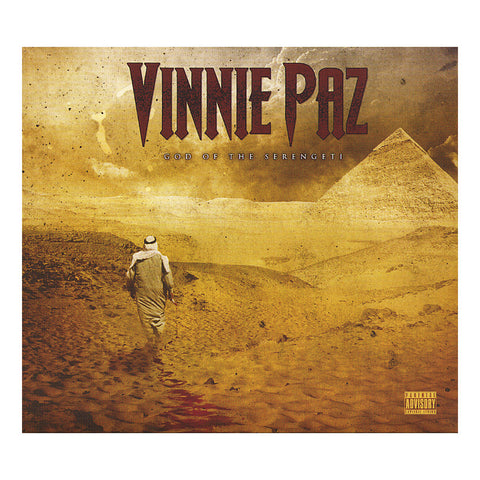 "[""Vinnie Paz - 'God Of The Serengeti' [CD]""]"