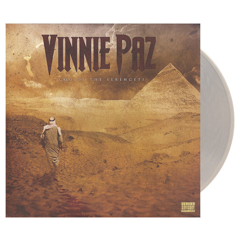 "[""Vinnie Paz - 'God Of The Serengeti' [(Clear) Vinyl [2LP]]""]"