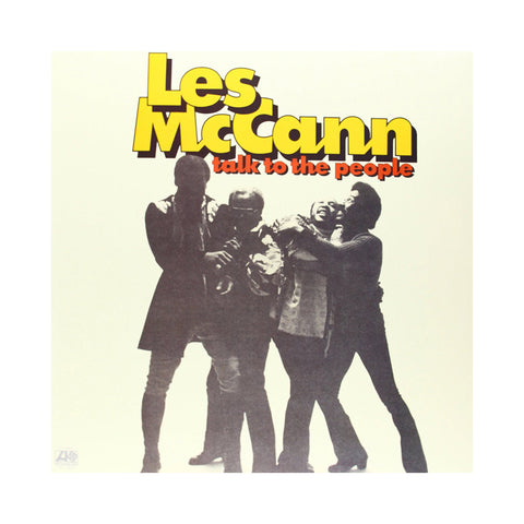 "[""Les McCann - 'Talk To The People' [(Black) Vinyl LP]""]"
