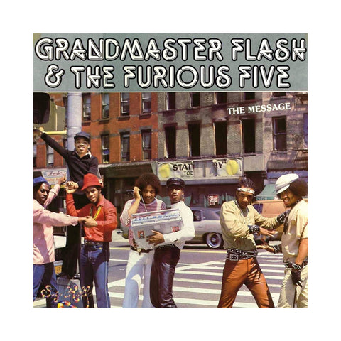 "[""Grandmaster Flash & The Furious Five - 'The Message (Re-Issue)' [(Black) Vinyl LP]""]"