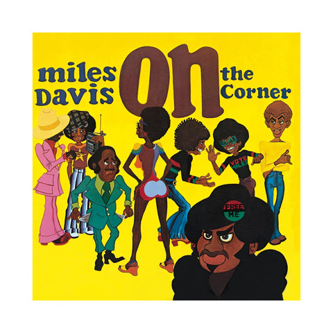 "[""Miles Davis - 'On The Corner ' [(Black) Vinyl LP]""]"