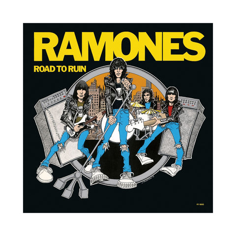 "[""Ramones - 'Road To Ruin' [(Black) Vinyl LP]""]"