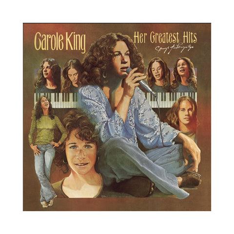 "[""Carole King - 'Her Greatest Hits' [(Black) Vinyl [0]]""]"