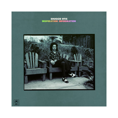 "[""Shuggie Otis - 'Inspiration Information (8th Records)' [(Black) Vinyl LP]""]"