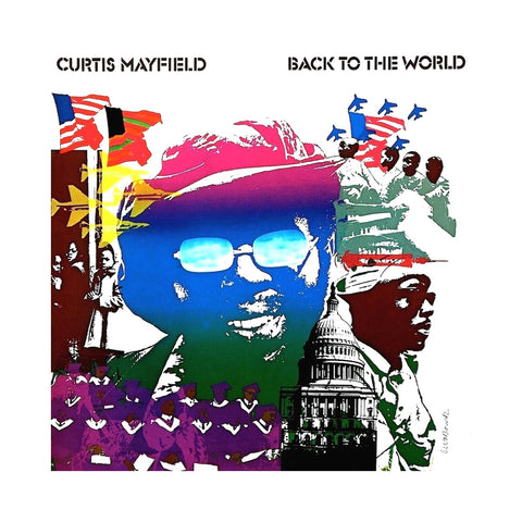 "[""Curtis Mayfield - 'Back To The World' [(Black) Vinyl LP]""]"