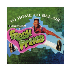 "DJ Jazzy Jeff & The Fresh Prince - 'Yo Home To Bel Air/ Parents Just Don't Understand' [(Neon Green Marble) 12"" Vinyl Single]"