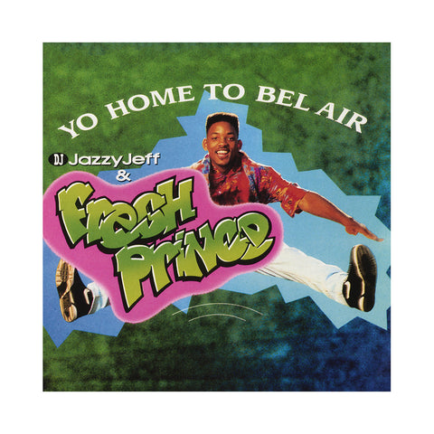 "[""DJ Jazzy Jeff & The Fresh Prince - 'Yo Home To Bel Air/ Parents Just Don't Understand' [(Neon Green Marble) 12\"" Vinyl Single]""]"
