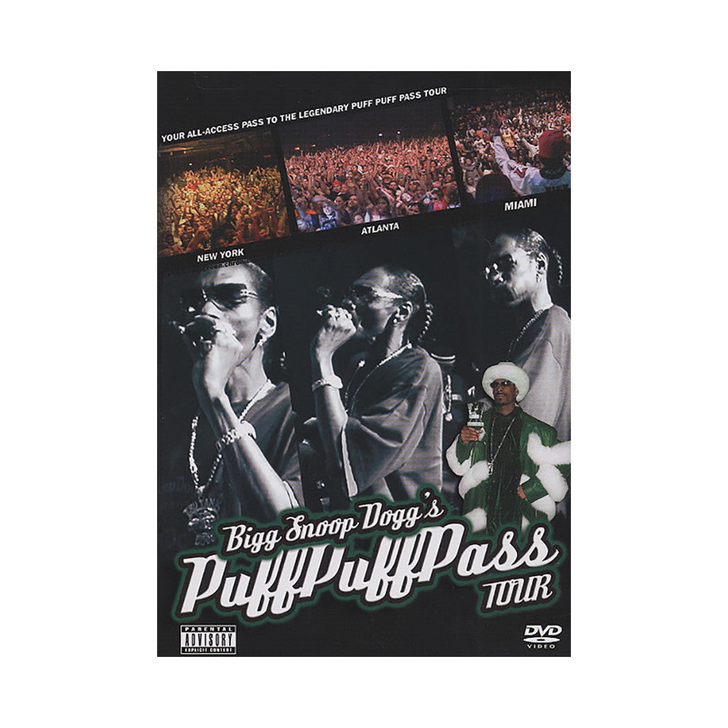 <!--020041116001159-->Snoop Dogg - 'Bigg Snoop Dogg's Puff Puff Pass Tour' [DVD]