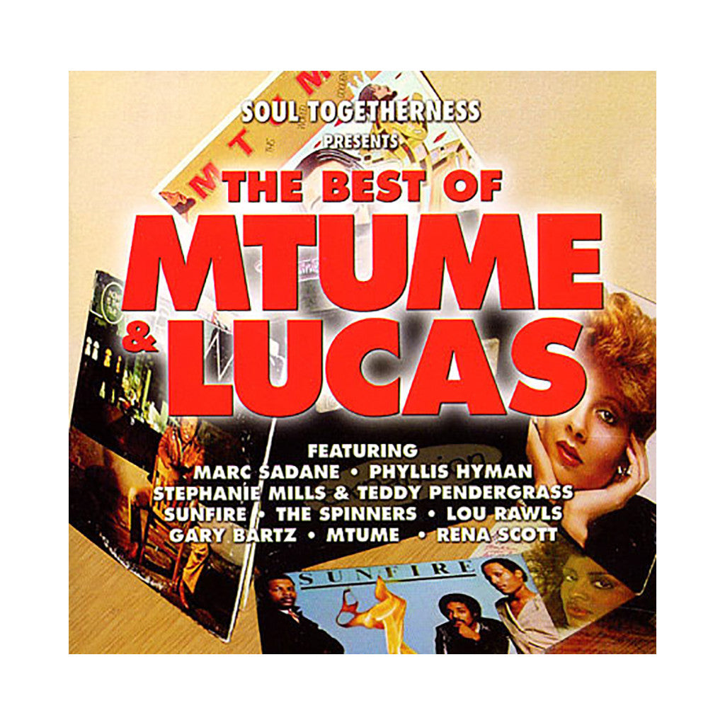Mtume & Lucas (Soul Togetherness Presents) - 'The Best Of Mtume & Lucas' [CD]