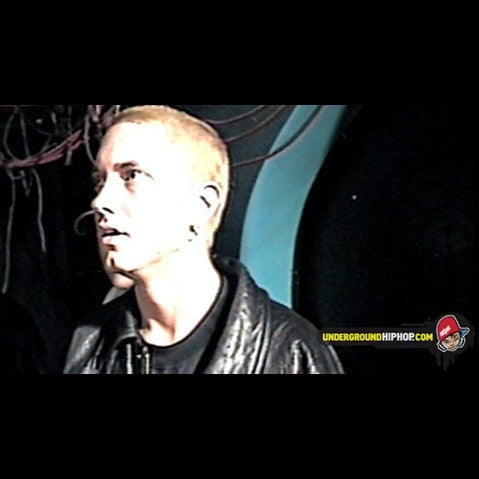 "Eminem & Royce 5'9"" - 'First Ever Video Interview (Live At Club Hibernia - Boston, MA - 9/25/98)' [Video]"